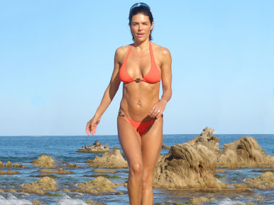 American Sexy Star Lisa Rinna in Bikini