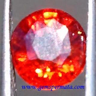 Batu Hessonite Garnet Luster Muncrat
