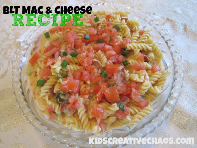 BLT Mac and Cheese Recipe