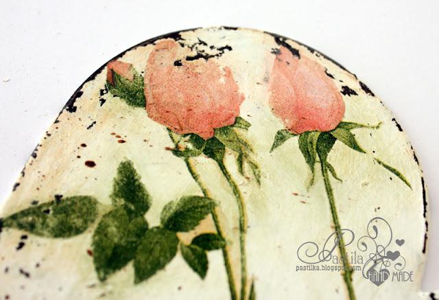 Фон из роз для скрапбукинга