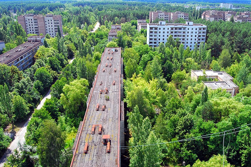 6. Pripyat, Ukraine - 31 Haunting Images Of Abandoned Places That Will Give You Goose Bumps