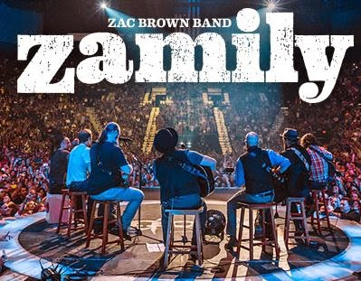 Zac brown band zamily reunion 2018 cma fest autograph signing and zac brown bands fan party will be held at the hgtv lodge on friday 612 at 4 pm ct attendees of this event will be chosen by lottery from a pool of m4hsunfo