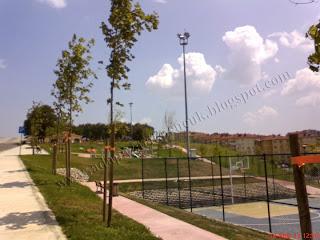 Korucuk park basketbol sahası