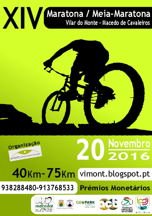 XIV Maratona/Meia Maratona 2016