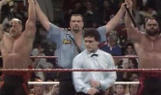 WWF / WWE SURVIVOR SERIES 1991 - The Legion of Doom and Big Boss Man