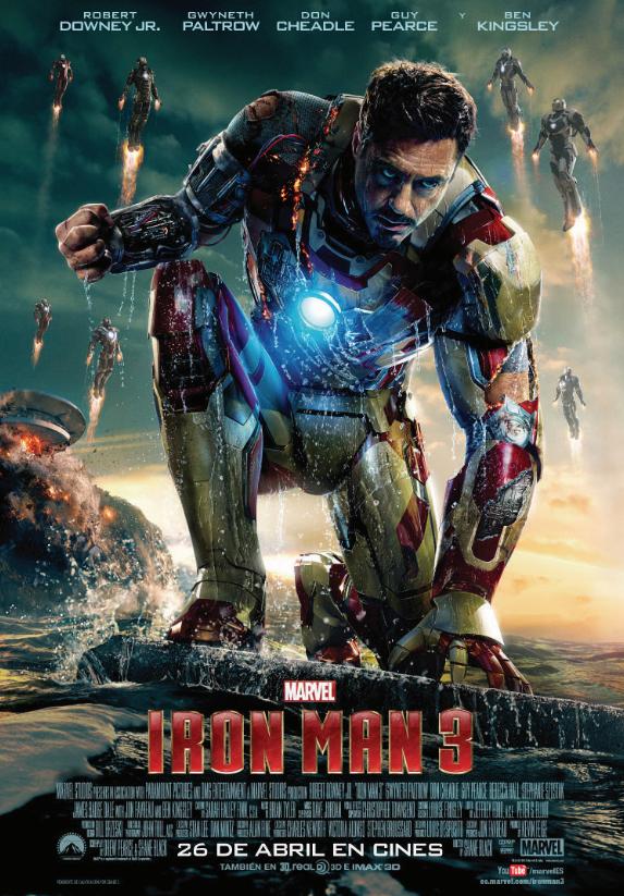 Iron Man 3 Poster Tony Stark