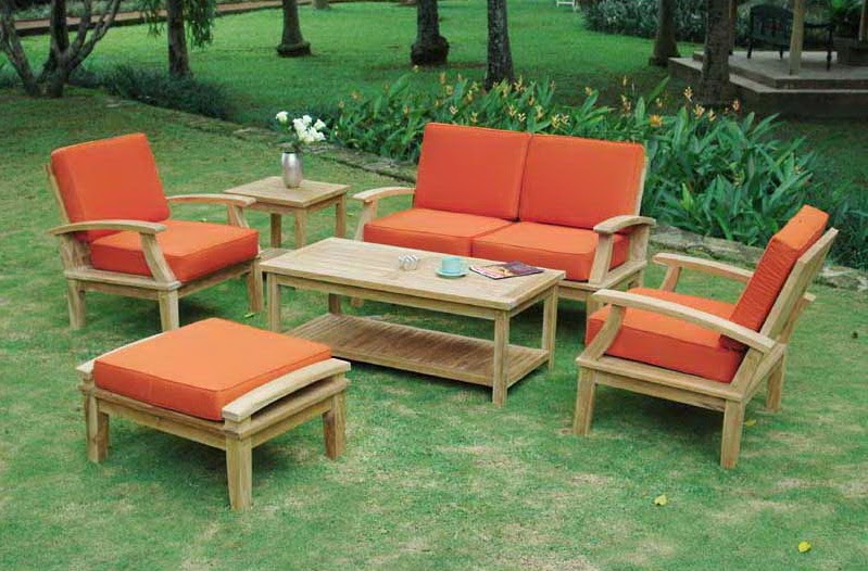 How to maintain wooden outdoor furniture vietnam for Wooden garden furniture