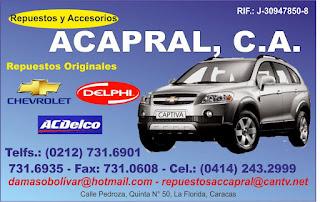 ACAPRAL, C.A. en Paginas Amarillas tu guia Comercial