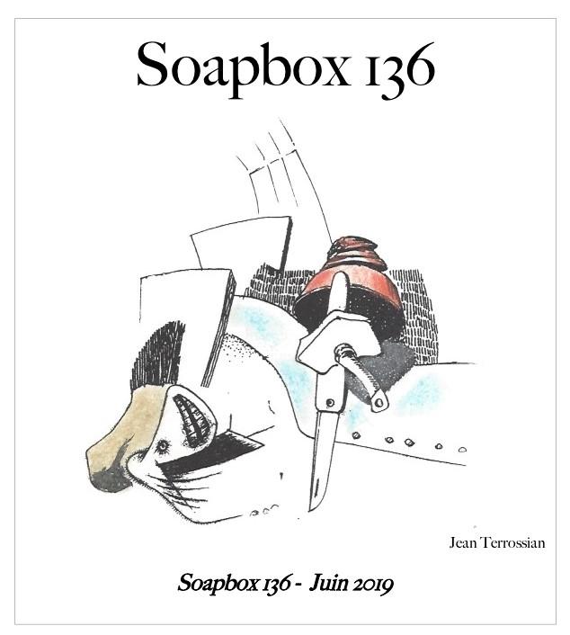 SOAPBOX 136, FEUILLET DE L'UMBO, ART & POÉSIE, JUIN 2019