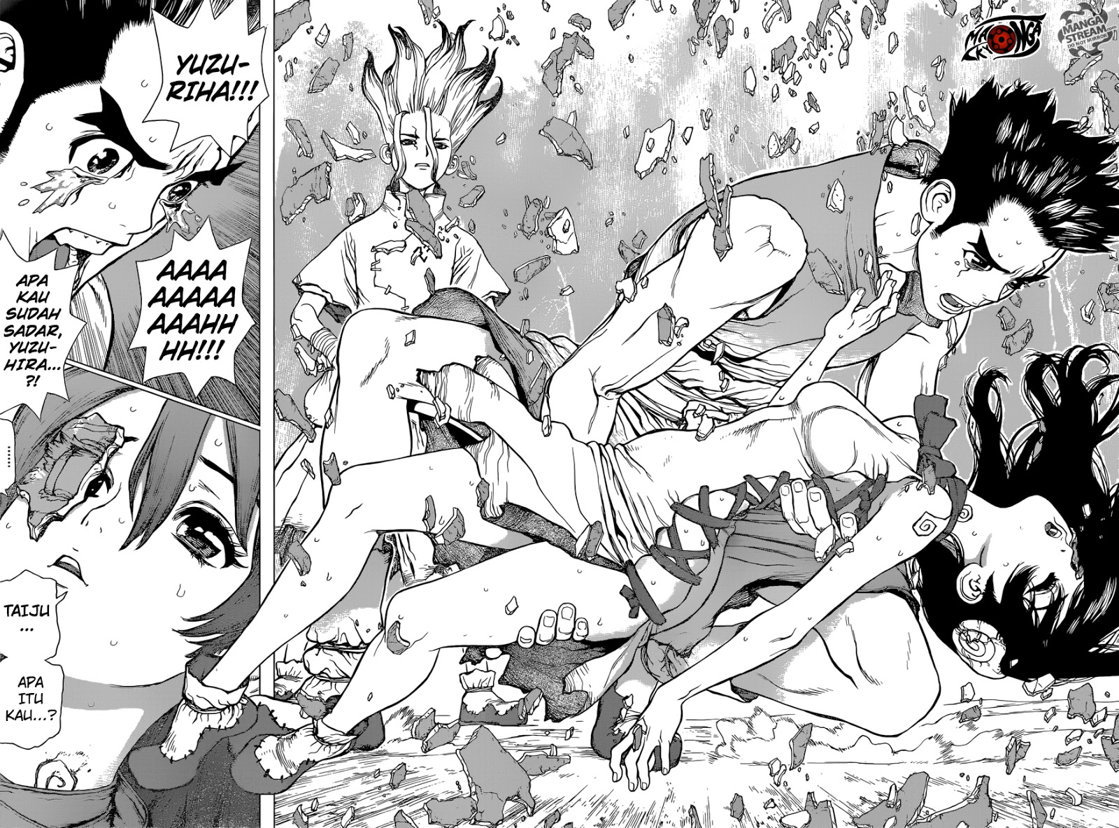Dr. Stone Chapter 05-15
