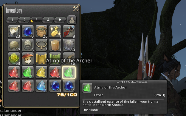 atmas and their locations some locations in the questlog are