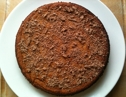 Fresh Paleo Orange Cake