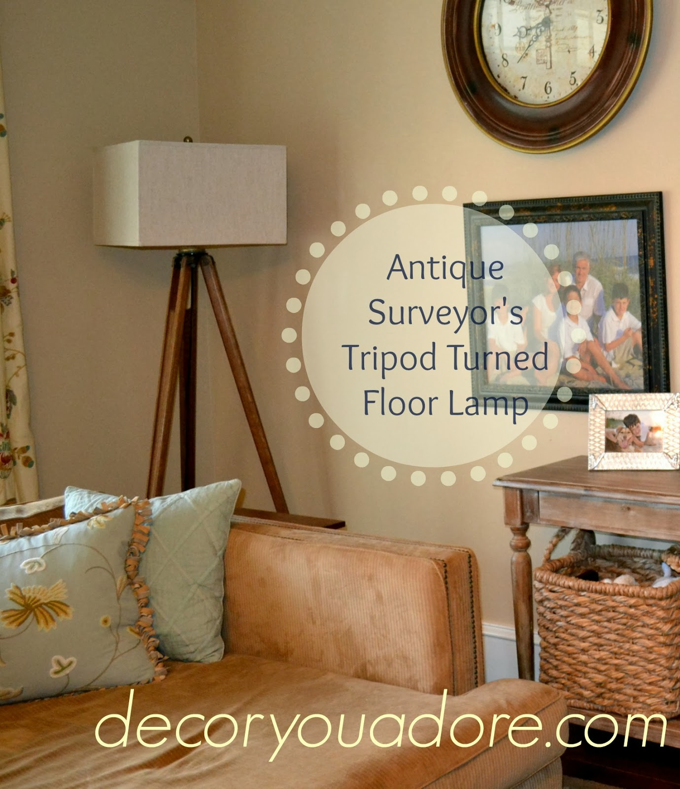 Decor you adore surveyors lamp turn a relic into a treasure tripod lamp made from old surveyors stand aloadofball Choice Image