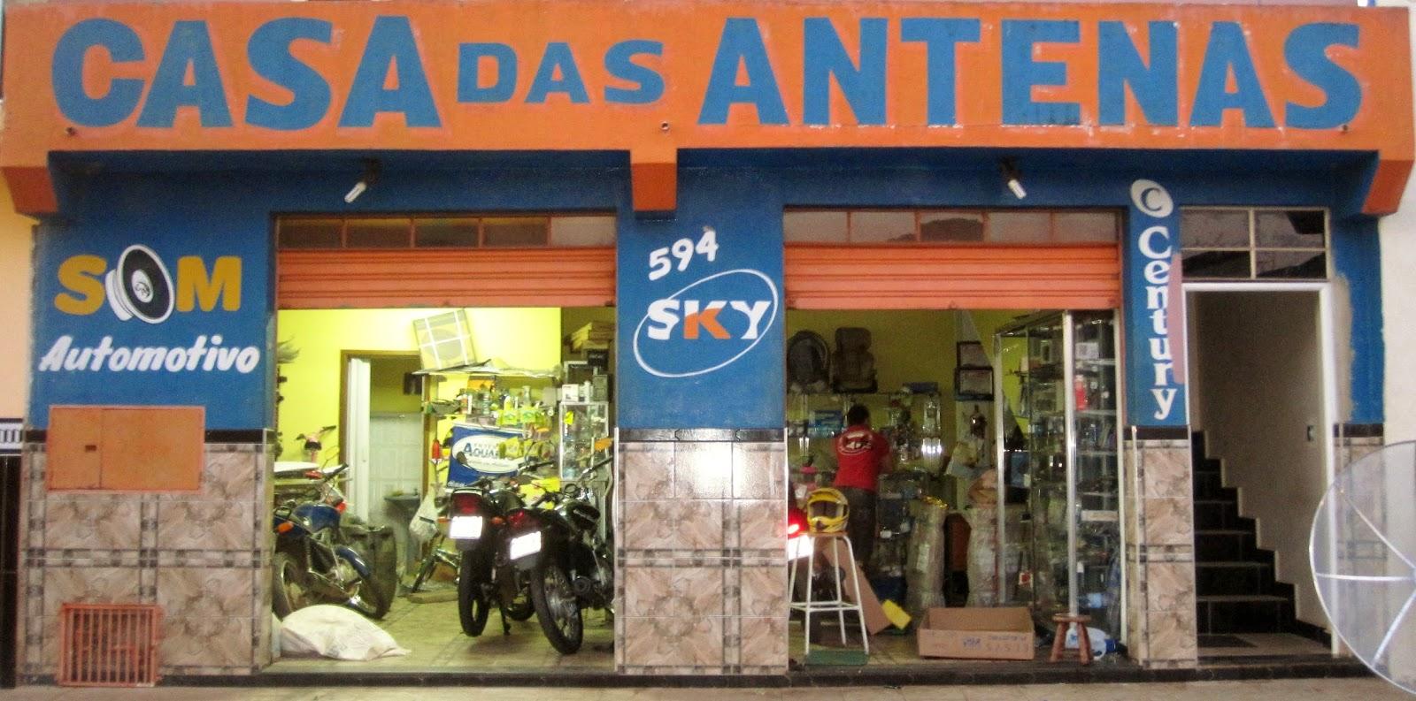 CASA DAS ANTENAS Acácio das Antenas Rua. Cel. Licínio, 594 Centro - Buri - SP tel:(15) 3546-2384
