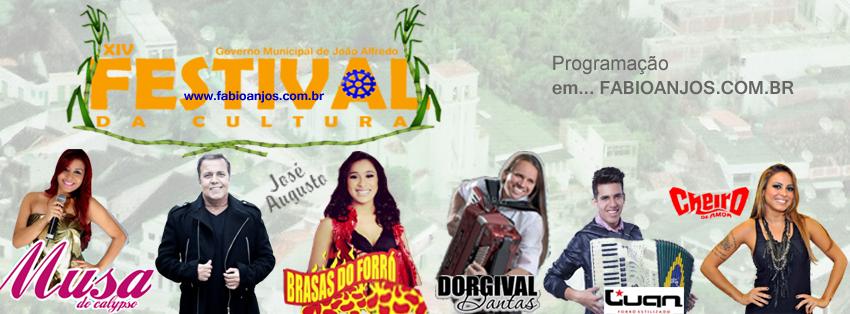 XIV Festival da Cultura 'João Alfredo-PE' CLIC E CONFIRA!