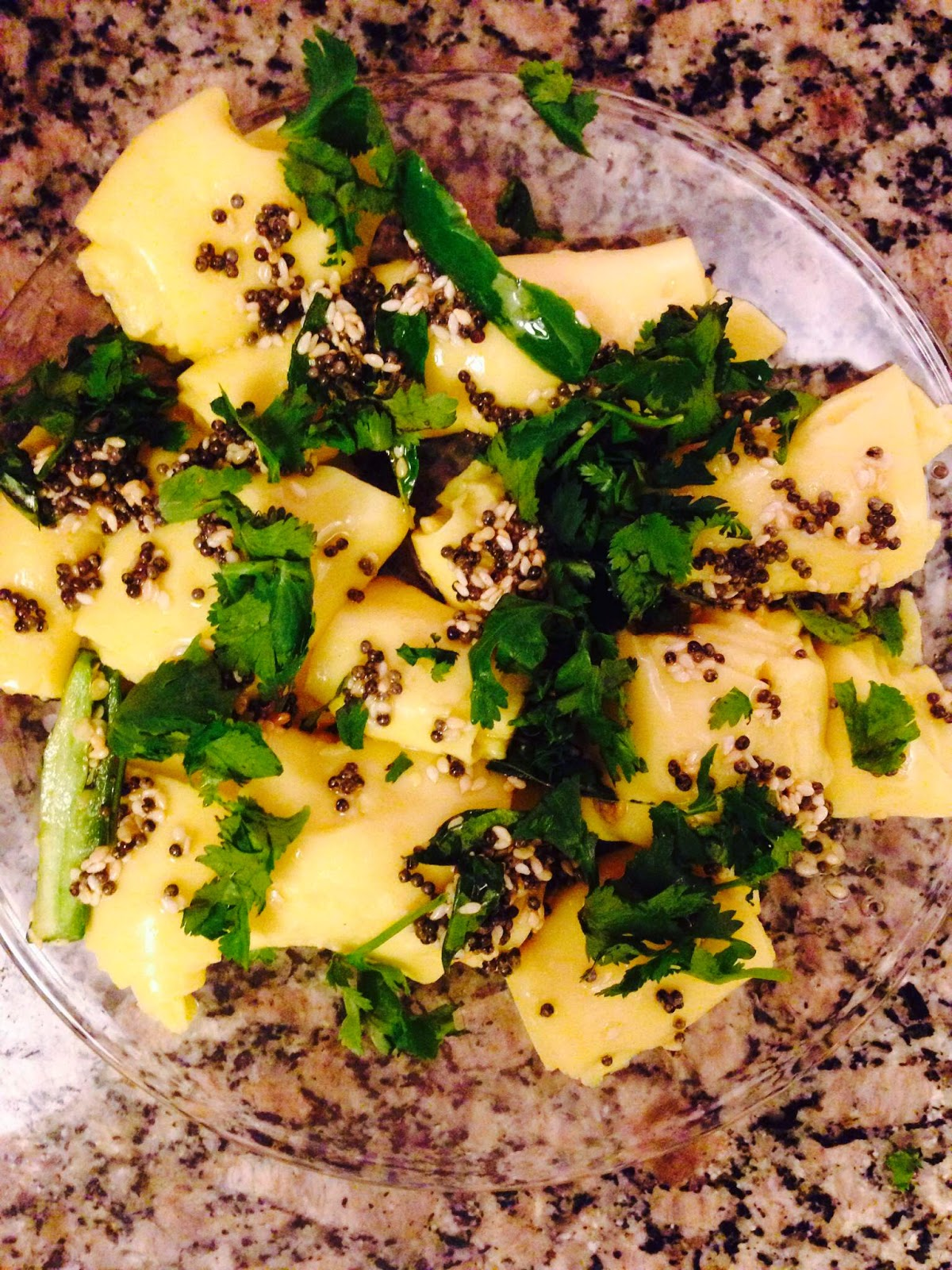 Indian food recipes indian recipes desi food desi recipes now put the seasoning on the top of khandvi garnish with cilantro forumfinder Choice Image