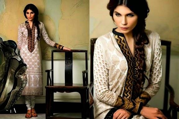 Sana Safinaz Designer Lawn Dresses For Eid