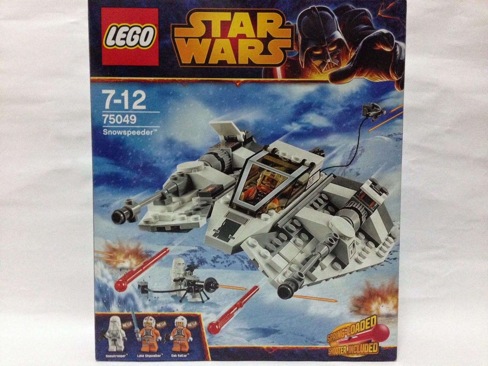 STAR WARS LEGO 75049 STICKER SHEET Snowspeeder