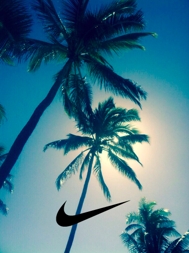 Logos For Nike Symbol Wallpaper Blue