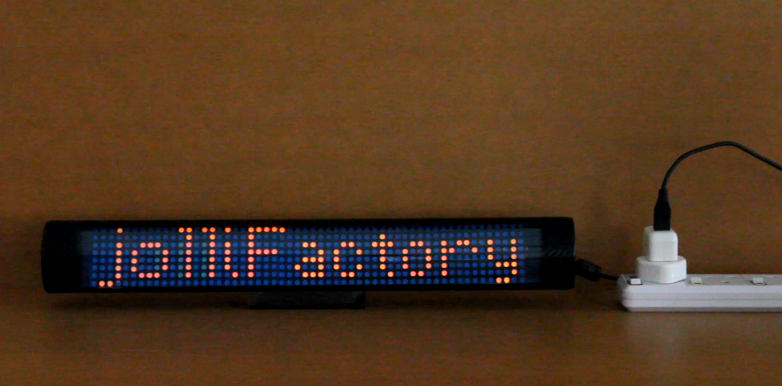Jollifactory arduino spi bi color led matrix