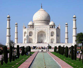 Taj Mahal seven wonders of world