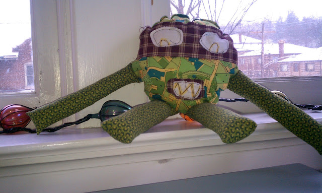 stuffed raphel ninja turtle