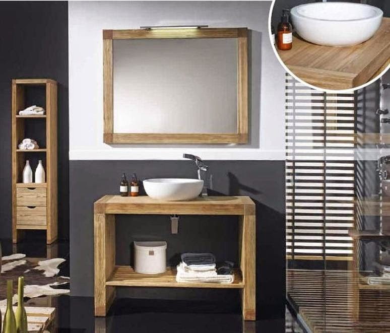 Modelos de muebles r sticos para el cuarto de ba o ba os y muebles - Muebles cuarto bano ...