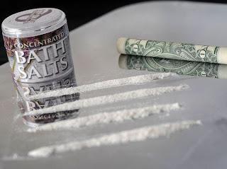 The street drug 'bath salts' are very dangerous