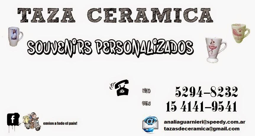 TAZA CERAMICA- VAJILLA PERSONALIZADA PARA EVENTOS