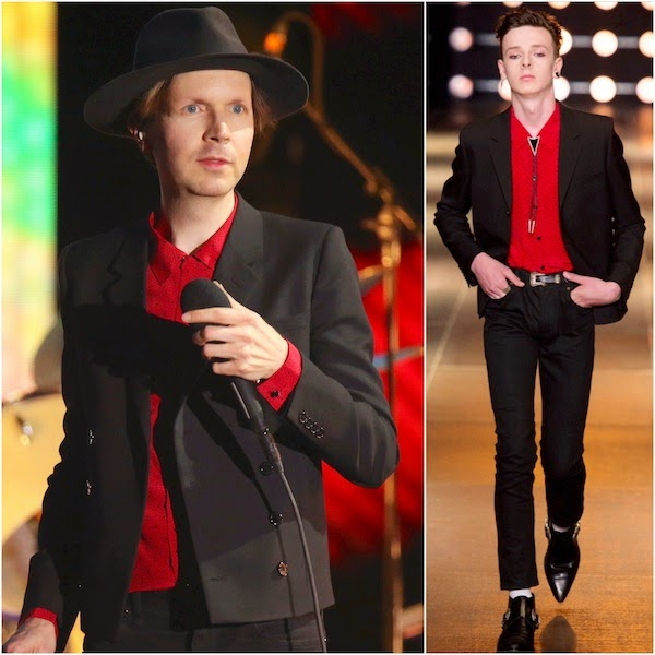 Beck in Saint Laurent - Coachella Valley Music and Arts Festival