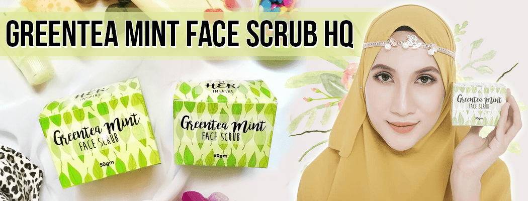 GREENTEA MINT FACE SCRUB HQ
