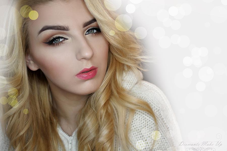 Makijaż dla Złotowłosej z Vipera Cosmetics