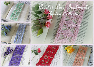 Lace Bookmarks Collection, $11.99