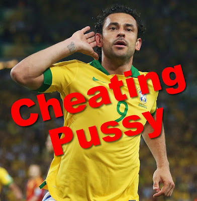 World Cup Brazil Fred is a cheating pussy