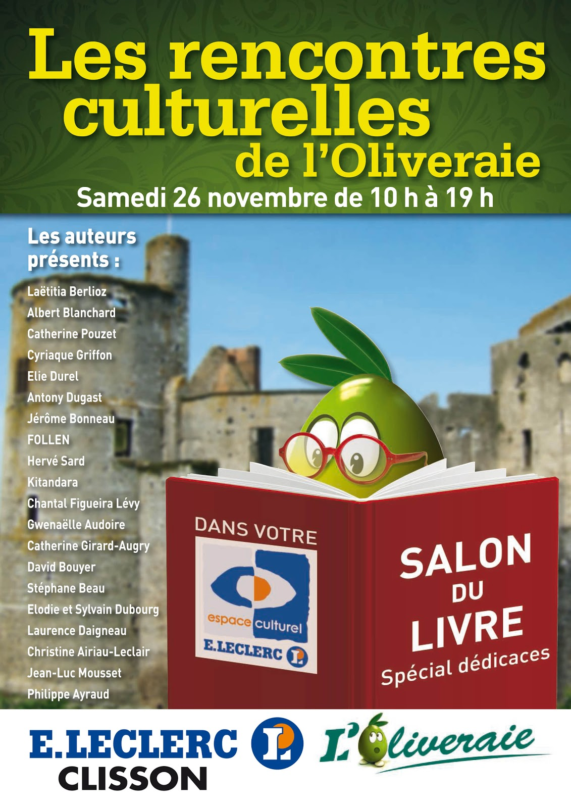 Polarmania salon du livre de clisson 44 - Salon du livre nantes ...