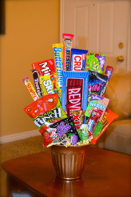 candy gift bucket