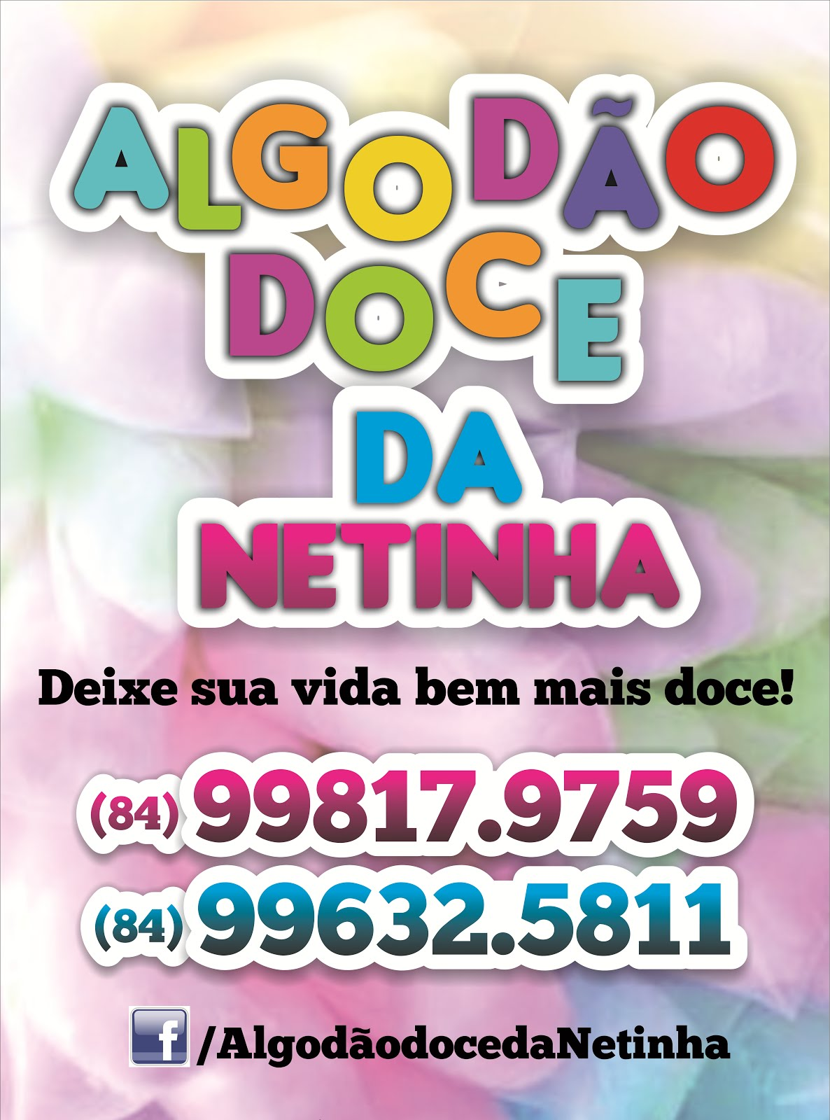 Algodão Doce da Netinha - Aqui Clique na Foto para abri a pagina