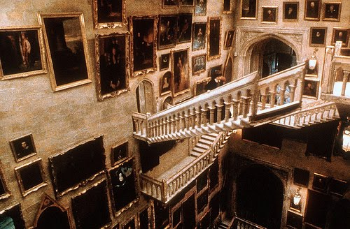 Harry Potter Staircase : Nerd history top fictional staircases