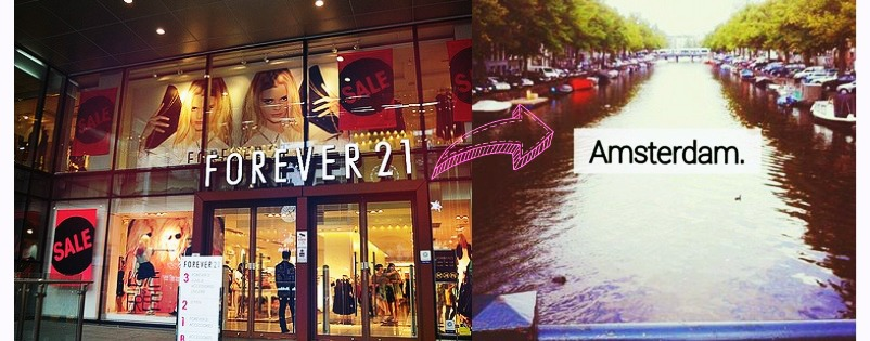 Forever21 in Amsterdam launching in May 2014