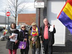Homenaje a la II República en Bobigny