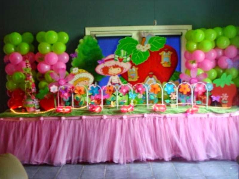 Contoh dekorasi ulang tahun anak menggunakan balon