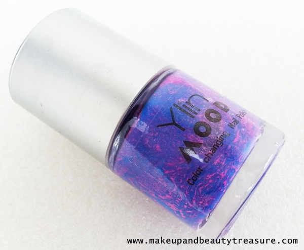 Born Pretty Store Ylin Color Change Nail Polish 'Purple/ Sky Blue Color' Review & NOTD
