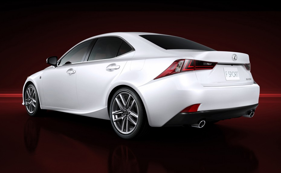 2014 Lexus IS 350 F Sport Official Images Image to Wallpaper