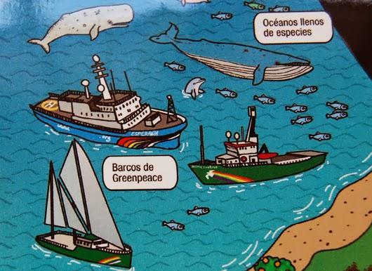 Extracto imagen campañas Greenpeace