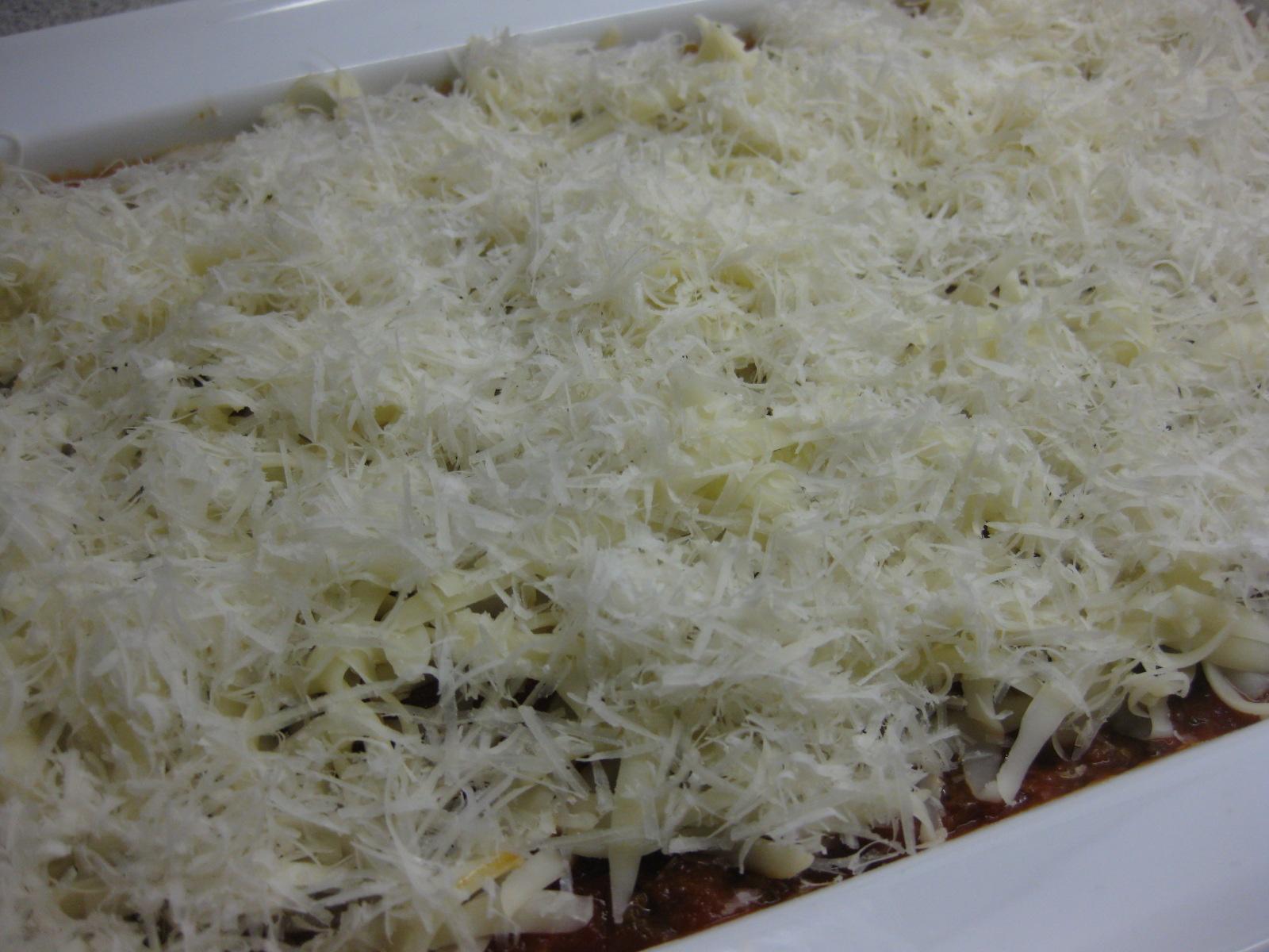 stort lasagne fad