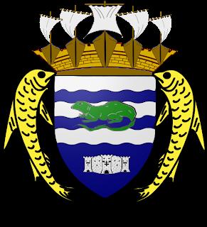 Sagesse de l'iguane Armoiries_Terre-de-Haut(Saintes)