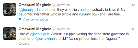 Omawumi Finally Opens Up About Delta State Governor Being Her Baby's Father