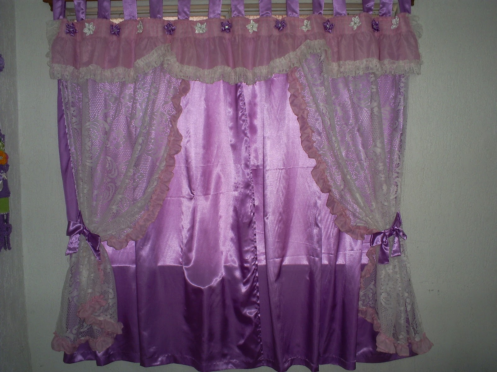 Ana 39 s confec es e artesanatos cortinas e band s - Bandos para cortinas ...