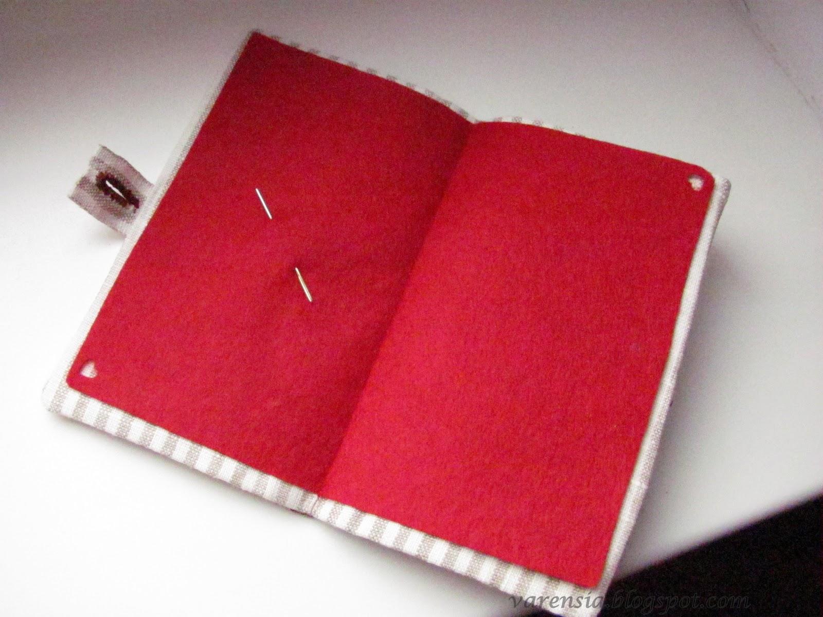 Игольница книжка своими руками фото