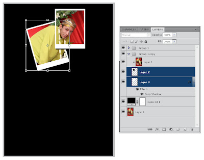 Tutorial Membuat Effect Polaroid Photomontage Dengan Photoshop